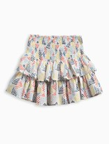 Splendid Girl Allover Print Ruffle Skirt