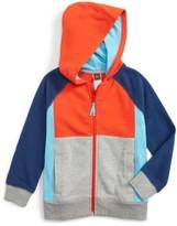 Tea Collection Toddler Boy's Colorblock Zip Hoodie
