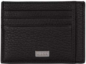 BOSS Grained Leather Card Holder
