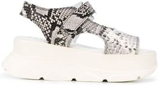 Joshua Sanders Spice wedge sandals