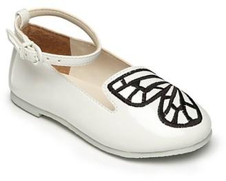 Sophia Webster Baby's, Little Girl's & Girl's Bibi Butterfly Mini White Shoes