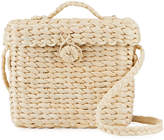 Hat Attack Tyler Small Straw Box Bag