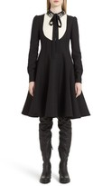 Valentino Garavani Women's Valentino Bib Front Wool & Silk Dress