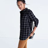 Madewell Classic Ex-Boyfriend Shirt in Windowpane Plaid