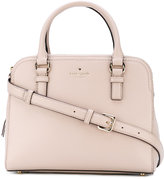 Kate Spade double zips tote - women - Cotton/Leather - One Size