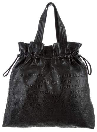 Chanel Unlimited Drawstring Tote