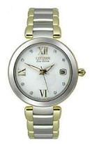 Citizen Signature Collection Marne Stainless Steel - Two-Tone Womens watch #EO1114-52A