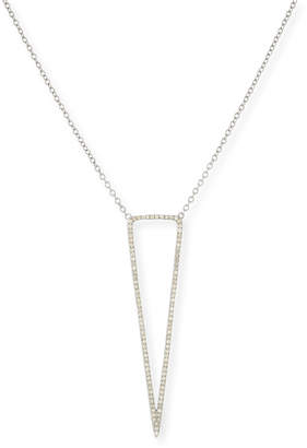Siena Jewelry Open Diamond Dagger Pendant Necklace