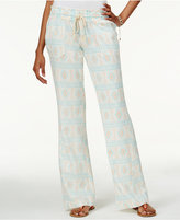 Roxy Juniors' Oceanside Printed Drawstring Soft Pants