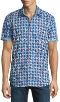 Robert Graham Johnson Valley Short-Sleeve Sport Shirt