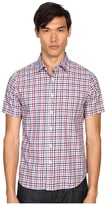 Jack Spade Clift Short Sleeve Point Collar Shirt Men's Short Sleeve Button Up