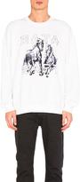 Baja East Horses Fleece Sweatshirt