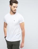 Jack Wills Ayleford Logo Pocket Slim Fit T-Shirt In Vintage White