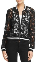 Lucy Paris Grace Lace Bomber Jacket - 100% Bloomingdale's Exclusive