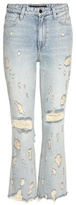 Alexander Wang Grind High-rise Cropped Flared Jeans