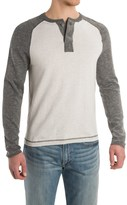 Agave Denim Agave Surfers Point Henley Shirt - Cotton, Long Sleeve (For Men)
