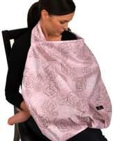 Balboa Baby Nursing Cover in Pink/Grey
