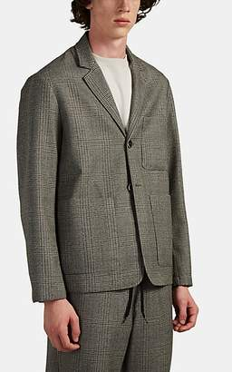 Barena Venezia Men's Unstructured Plaid Wool Two-Button Sportcoat - Gray