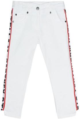 Stella McCartney Logo intarsia skinny jeans