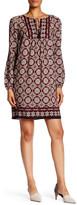 Max Studio Tassel Tie Paisley Dress
