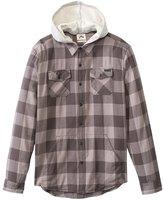 Rusty Men's Ironbark Hooded Long Sleeve Shirt 8136200