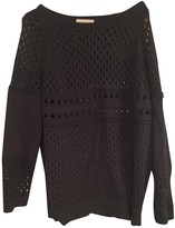 BA&SH Bash Fall Winter 2018 Black Cotton Knitwear