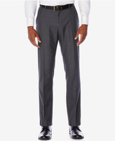 Perry Ellis Men's Slim-Fit Plaid Non-Iron Dress Pants