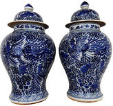 One Kings Lane Vintage Phoenix Ginger Jars