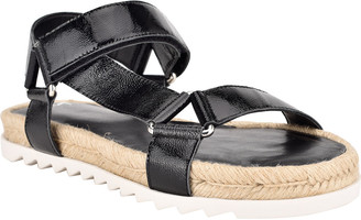 Marc Fisher Jecca Asymmetrical Espadrille Sandals