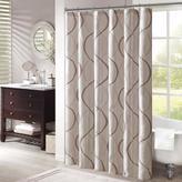 "Madison Park Serendipity Shower Curtain - Ivory/72"" x 72"""
