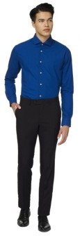 OppoSuits Men's Royale Solid Color Shirt