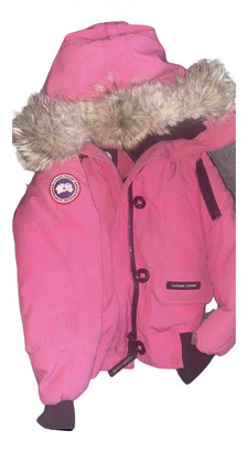 Canada Goose Chilliwack Pink Polyester Coats