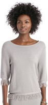 Sole Society Flash Knit Top