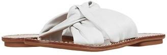 Soludos Clara Beach Slide (White) Women's Shoes