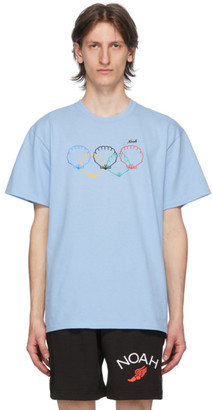 Noah NYC Blue Scallops T-Shirt