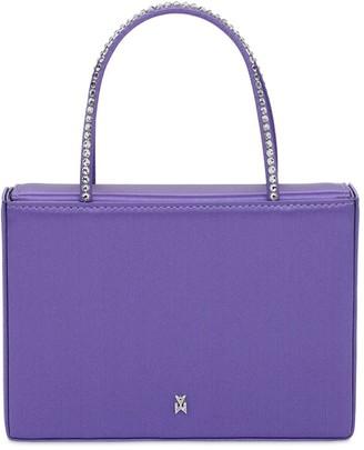 Amina Muaddi Aminigilda Embellished Top Handle Bag
