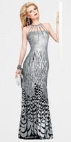 Faviana Glamour Sequin Print Evening Dresses