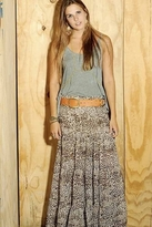 Blu Moon Almost Famous Skirt in Leopard