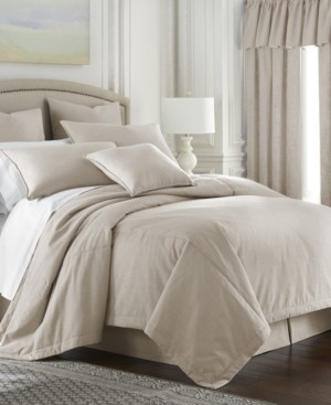 Colcha Linens Cambric Natural Comforter-Queen Bedding