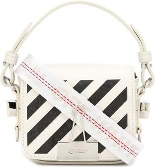 Off-White Off White Binder Clip Baby leather shoulder bag