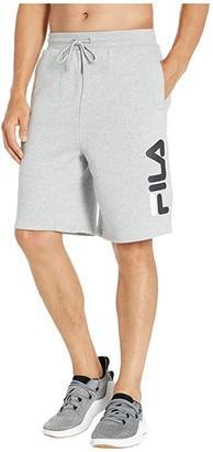 Fila Bono Shorts (Light Grey Marl/Black/White) Men's Clothing