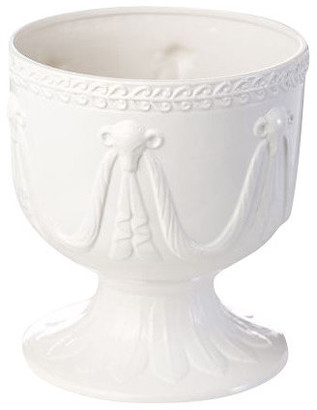 Abigails Ramshead Cachepot With Garland, Small
