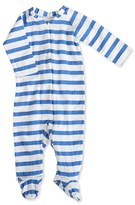 Aden Anais Infant Boy's Aden + Anais Striped Long Sleeve Zipper One-Piece