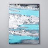 CB2 Ocean Storm Canvas Painting