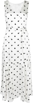 Rosetta Getty Bauhaus dot-print dress