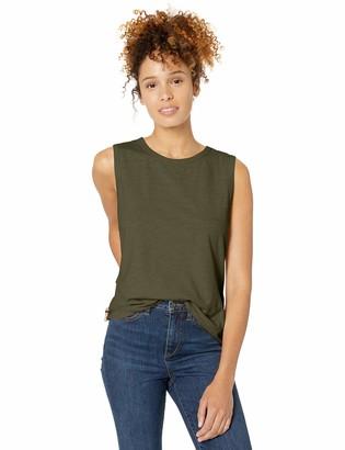 Goodthreads Vintage Cotton Crewneck Muscle Tee T-Shirt
