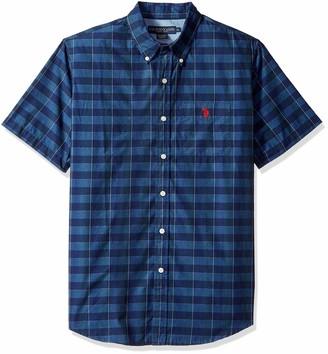 U.S. Polo Assn. Men's Short Sleeve Fit Striped Shirt