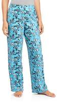 Briefly Stated Disney Frozen Women's Olaf Micro Fleece Pajama Sleep Pants