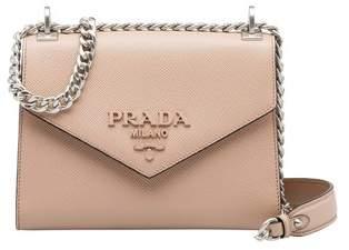 ae81d6fa03 Prada Beige Saffiano Leather Handbags - ShopStyle