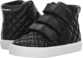 Burberry Quilted Leather High Top Trainers Kid's Shoes